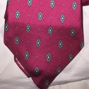 Christian Dior silk tie made in USA Woven in Italy
